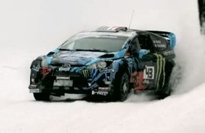 Video: Ken Block Hooning In The Snow Ahead Of Sno*Drift Race