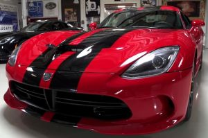 Video: 2013 SRT Viper Shows Up In Leno's Garage