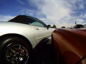 Video: Unbelievably Close-Call As Two Vettes Nearly Crash