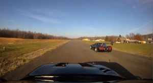 Video: Turbo 'Vette Versus Turbo Supra on Airstrip