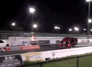 Video: Naturally Aspirated Jeep SRT8 Rips Wheelies At Drag Strip