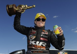 Enders-Stevens Leads Pro Winners At NHRA Arizona Nationals