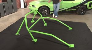 Video: CJ Pony Parts Installs A 6-Point Roll Bar On 2013 Mustang GT