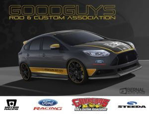 Goodguys Focus ST Giveaway Car Taking Shape