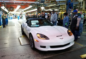 The Final C6 Corvette Rolls Off of the Assembly Line