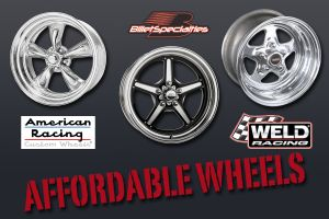 Selecting Affordable Wheels For Your Classic Musclecar