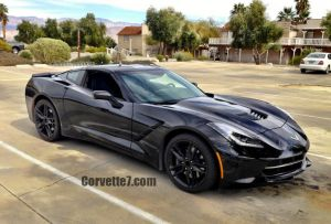 Blacked-Out 2014 C7 Corvette Spotted in SoCal