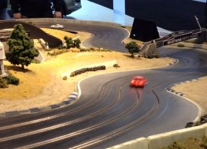 Video: Check Out This Mustang-Themed Slot Car Track