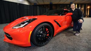 Super Bowl MVP Joe Flacco Takes Home 2014 C7 Corvette