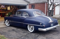 1951 pontiac rear