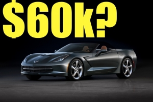 Corvette Convertible Price Revealed