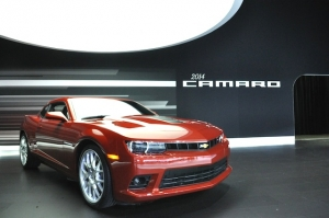 Cosmetic and Interior Changes Await the Camaro for 2014