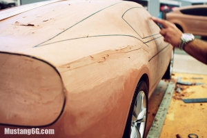 Are These Clay Models Of The 2015 Ford Mustang?