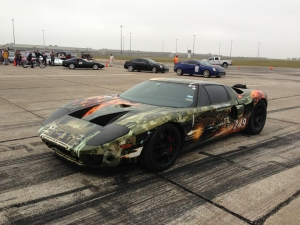 Video: Twin-Turbo Ford GT Sets New Texas Mile Speed Record