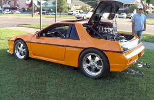 Video: An Olds-Stuffed Pontiac Fiero Makes Rounds At The Rod Run