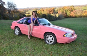 eBay: A Pink Fox-Body Mustang, Because Why Not?