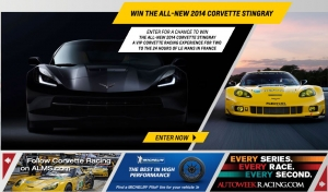 Win an All-New Corvette and a Trip to the 24 Hours of Le Mans