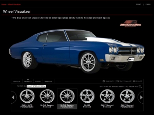 Check Out Billet Specialties Online Wheel Visualizer Program
