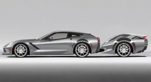 Callaway Unveils New Kids' Trailer for 2014 C7 Corvette Wagon