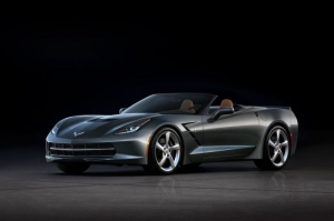 First Production C7 Corvette Convertible Sells for $1M at Palm Beach