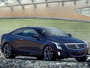 GM Planning Cadillac ATS Coupe