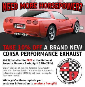 CORSA and Mid America Motorworks Offering Free Installs at NCM Bash