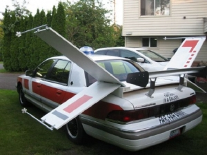 1992 Mercury Grand Marquis X-Wing Fighter