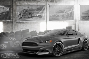 2015 Saleen Mustang Gets Rendered