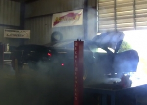 Video: Twin Turbo Camaro Shreds Both Tires on the Dyno
