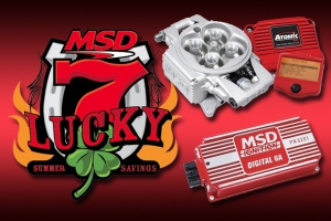 MSD Performance Offers Lucky 7 Weekly Rebates For Week 1