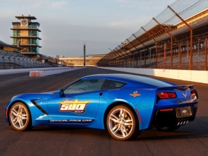 C7 Corvette Takes On the Role as Official Pace Car for 2013 Indy 500