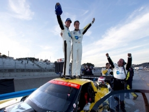 Corvette Racing's Number 3 C6.R Takes Historic Laguna Seca Win