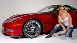 Stephanie and the ZR1 – Behind the Scenes at a Photoshoot