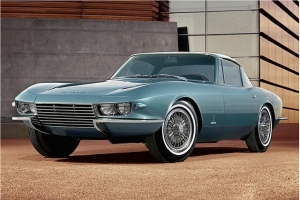 One-of-One Steel-Bodied Corvette Rondine Heading to Carlisle