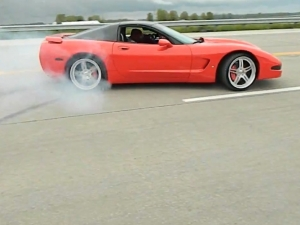 "Video: Corvette Fail Ends In ""Hit and Run Baby!"""