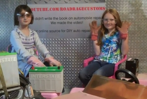 Samantha and Emily Show How to Modify YOUR Power Wheels Corvette!