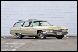 Elvis's Unique Cadillac Station Wagon For Sale