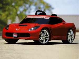 Power Wheels C7 Corvette to be Fastest Yet