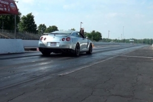 Video: Nissan GTR Runs 8.71 At 170 MPH In The Quarter-Mile