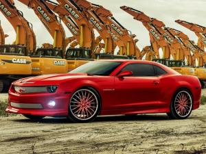 Jordany Valdespin's Custom Camaro is a Red Hot Ride