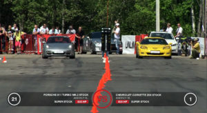 Video: Z06 Takes on ZL1, GT500, Esprit, and 911 in the Standing Mile