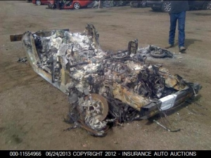 For Sale: 427 Convertible, Some Fire Damage, Needs Work