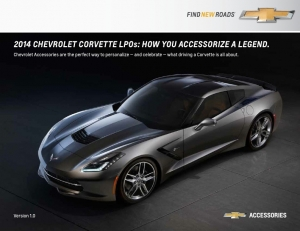 2014 C7 Stingray Limited Production Options Revealed