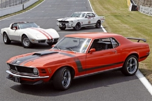 Video: Classic American Muscle Driving Experience In the UK