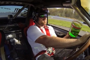 Video: Vaughn Gittin Jr. Throws Down For A Game Of Drift