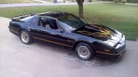 1987 Trans Am smokey and the bandit 4 side