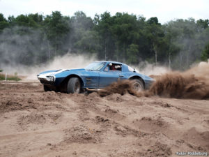Video: Grand Sport Corvette Replica Meets Dirt!