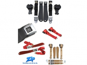 Zip Corvette Announces 1958-1996 Reproduction Corvette Seat Belts