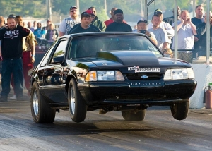 "Team Z Motorsports Fox-body ""Blackie"" Is A 60-Footing Beast"