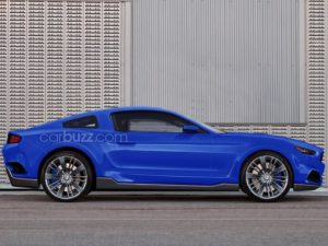 CarBuzz Debuts Their Latest 2015 Mustang Rendering